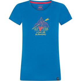 La Sportiva Alakay T-shirt Damer, blå